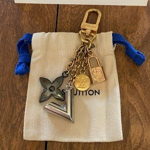 Louis Vuitton Kaliedo V Bag Charm Keychain